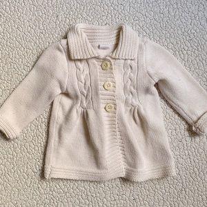 3-6 months cardigan sweater